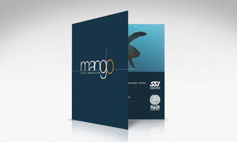 brochure design 50bar scuba design