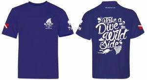scuba diving marketing and t-shirt graphic design by 50bar scuba design