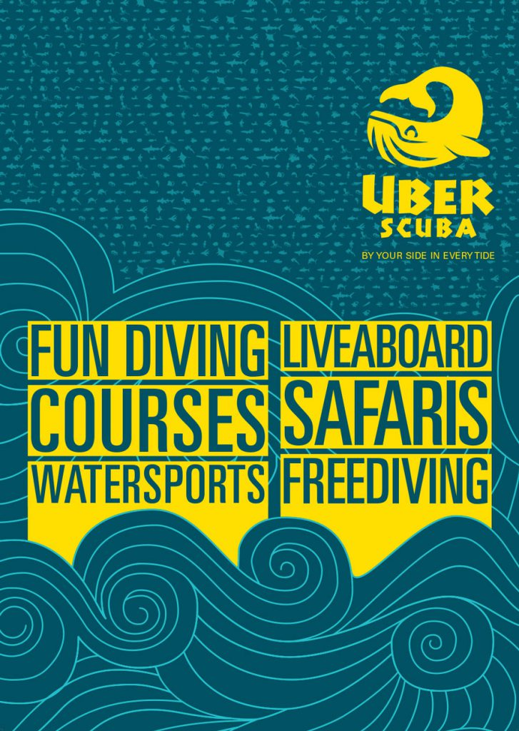 scuba diving marketing & poster and outdoor banner design by 50bar scuba design