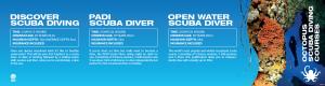 Scuba diving course design by 50bar scuba design