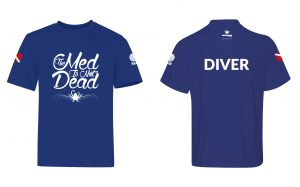 illustration scuba diving t-shirt design by 50bar scuba design
