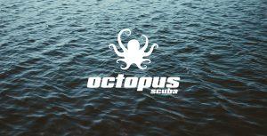 scuba diving center logo by 50bar scuba design