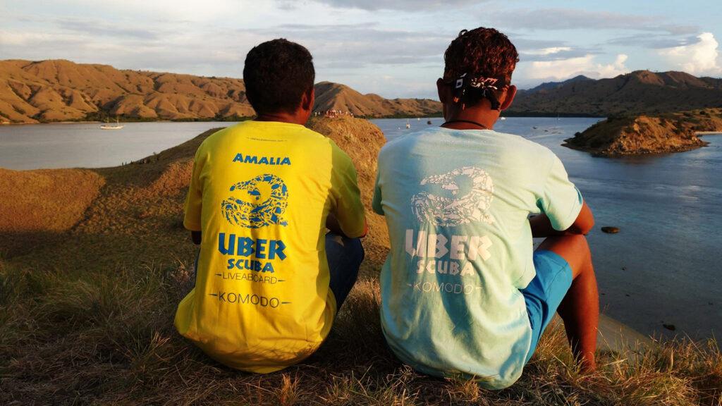 Uber scuba diver t shirt design