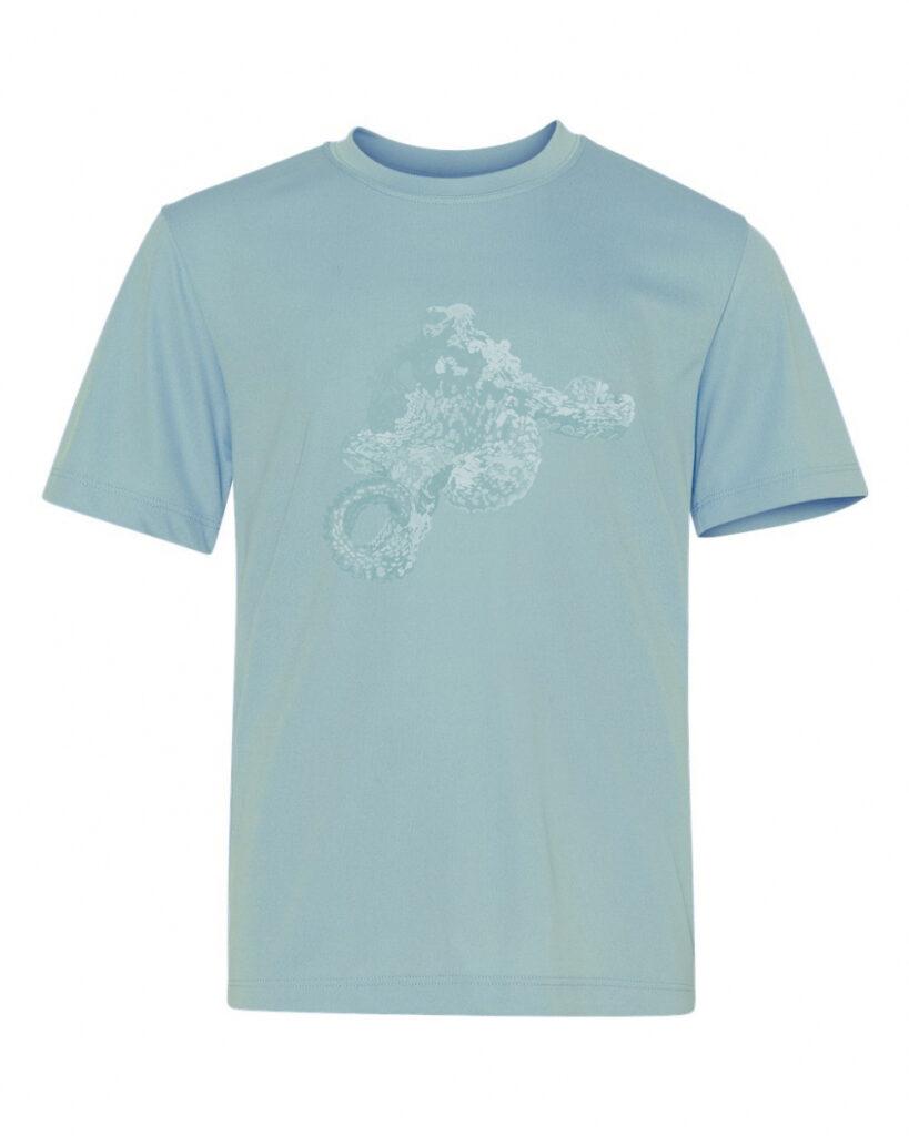 50bar scuba design Octopus t-shirt for Diver Alert Network