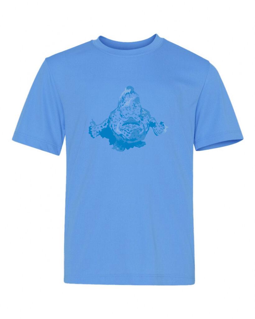 50bar scuba design frogfish t-shirt for Diver Alert Network
