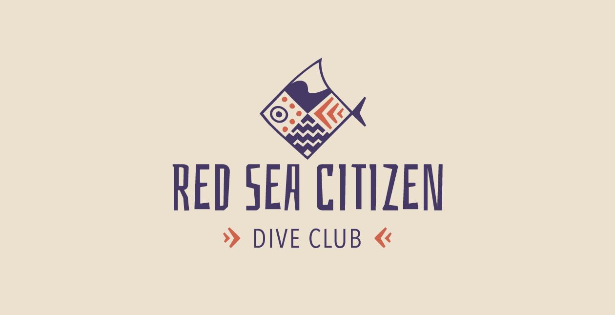 main red sea citizen logo design